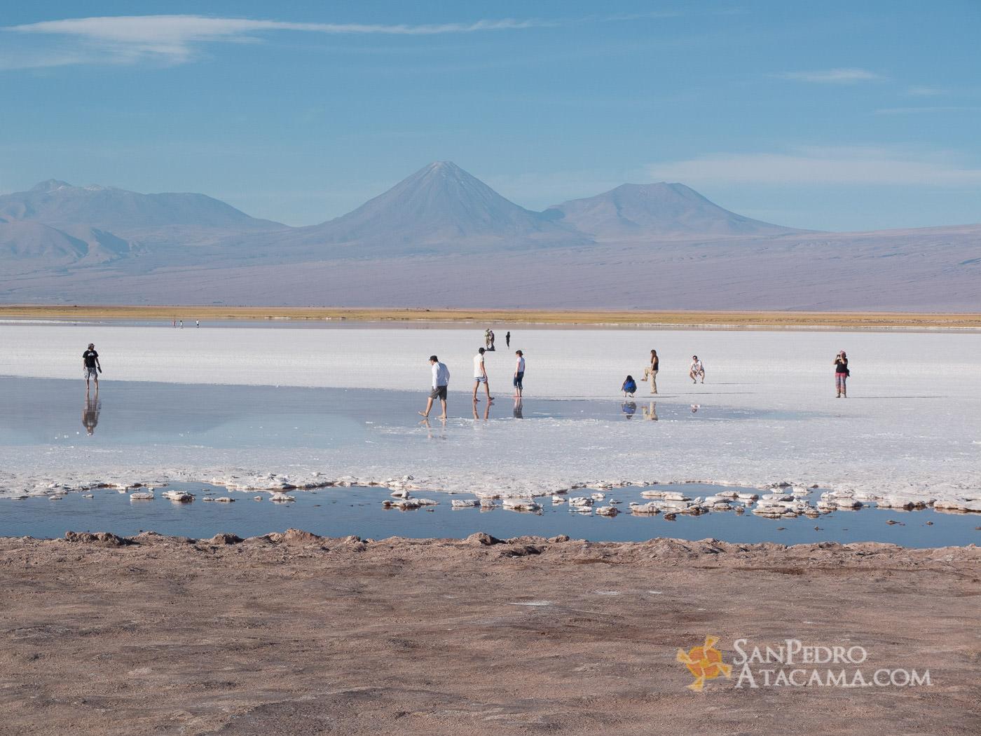 Gente en Laguna Tabinquiche