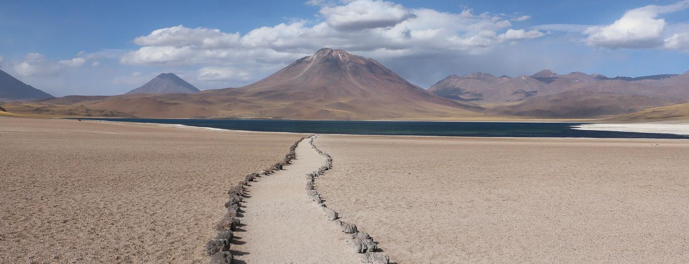 Camino a San Pedro de Atacama