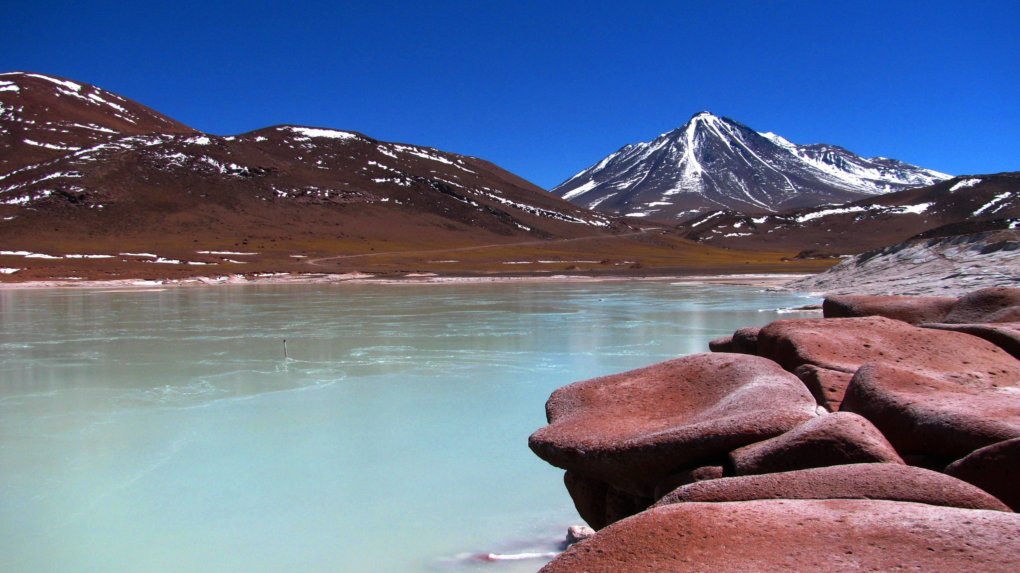 San Pedro de Atacama Lago y Volcán