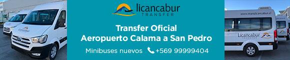 Transfer Aeropuerto San Pedro de Atacama - Chile